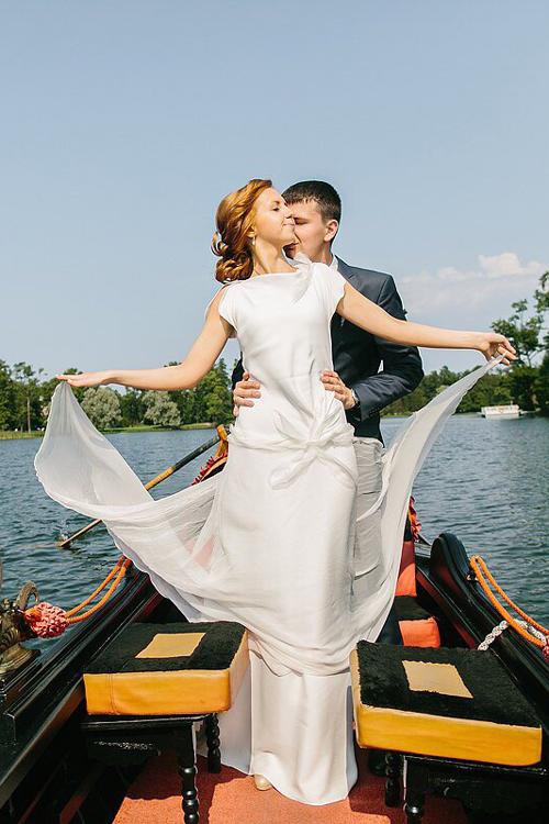 Невеста Алеся в платье «Amare» (Rembo Styling)