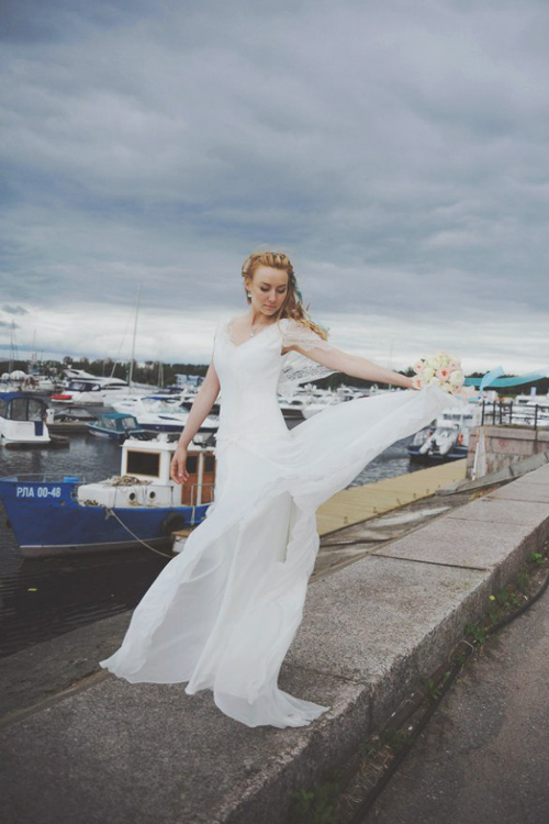 Невеста Александра в платье «Billie» (Rembo Styling)