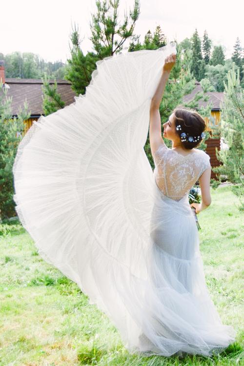 Невеста Александра в платье «Margot» (Rembo Styling)
