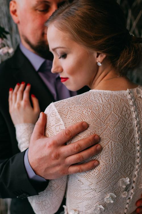 Невеста Анастасия в платье «Эми» (Миламира)