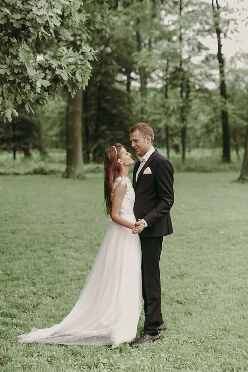 Невеста Анастасия в платье «Веста» (Миламира)