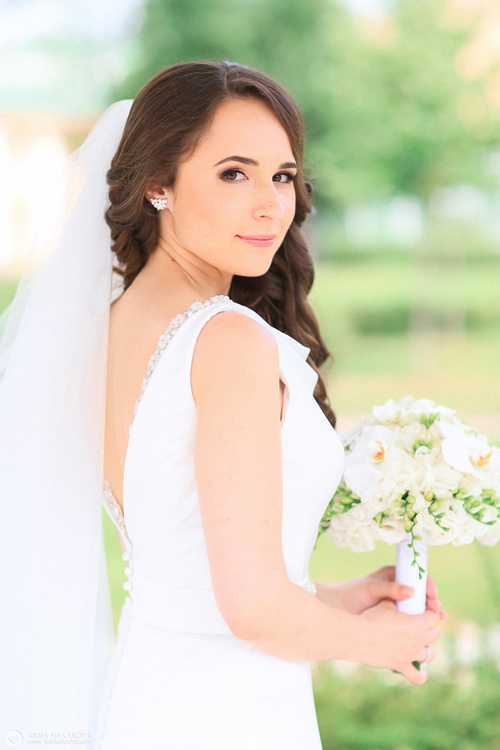 Невеста Анна в платье «Adora» (Marylise)