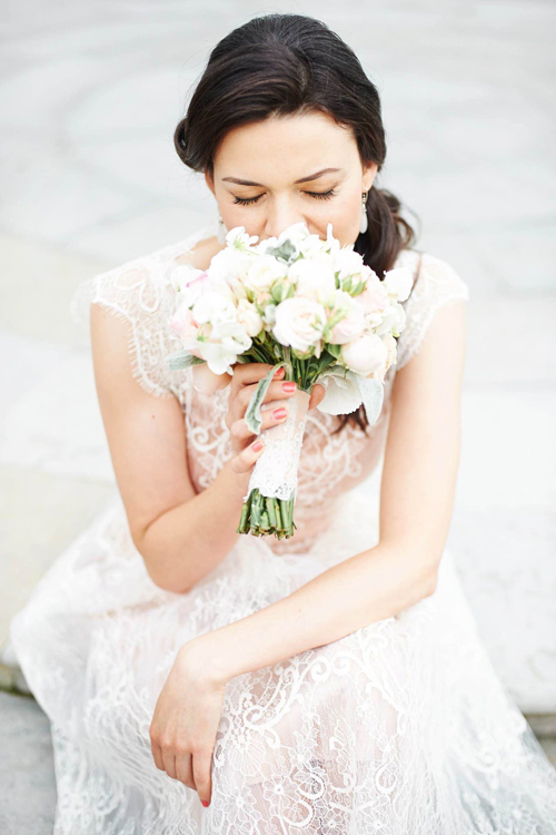 Невеста Анна в платье «Ange» (Rembo Styling)