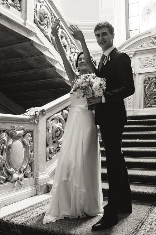 Невеста Дарья в платье «Coralie» (Rembo Styling)