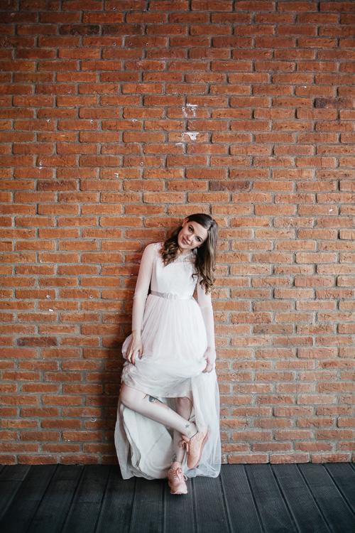Невеста Екатерина в платье «Агния» (Миламира)