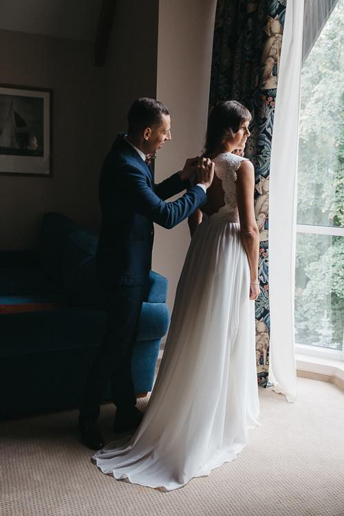 Невеста Екатерина в платье «Nerea» (Cathy Telle)