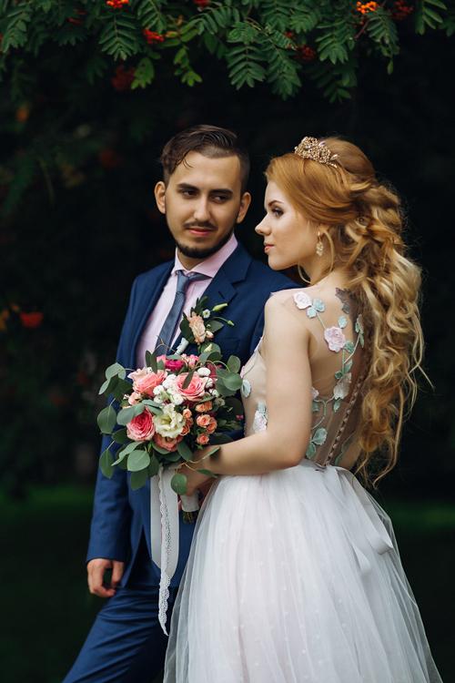 Невеста Эльвира в платье «Долорес» (Миламира)