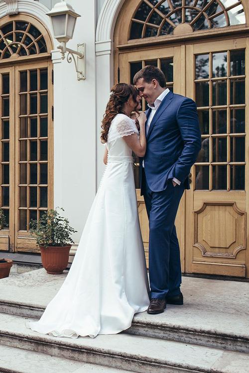 Невеста Евгения в платье «Adora» (Marylise)