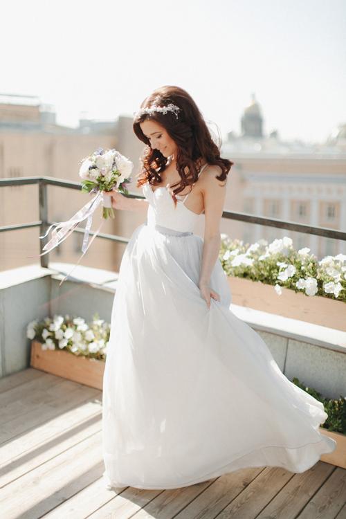 Невеста Карина в платье «Исидора» (Миламира)