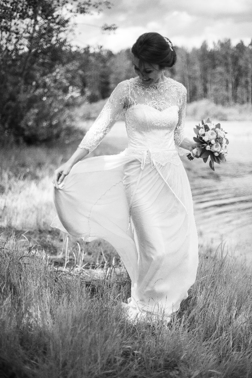 Невеста Ксения в платье «Isabelle» (Rembo Styling)