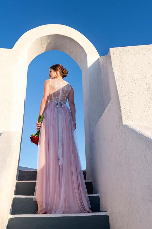 Невеста Лена в платье «Ульяна» (Миламира)