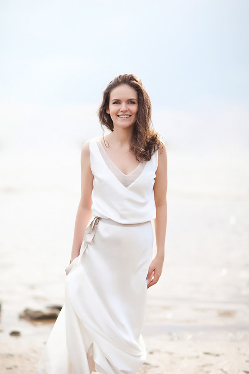 Невеста Лиза в платье «Roxanne» (Rembo Styling)