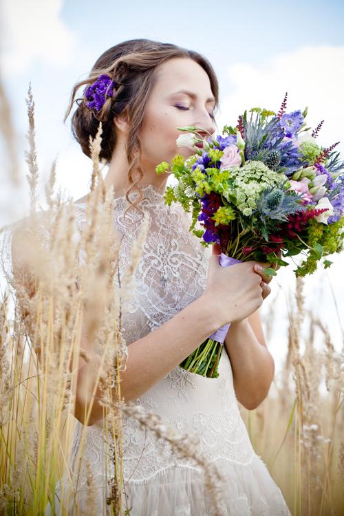 Невеста Мария в платье «Ange» (Rembo Styling)