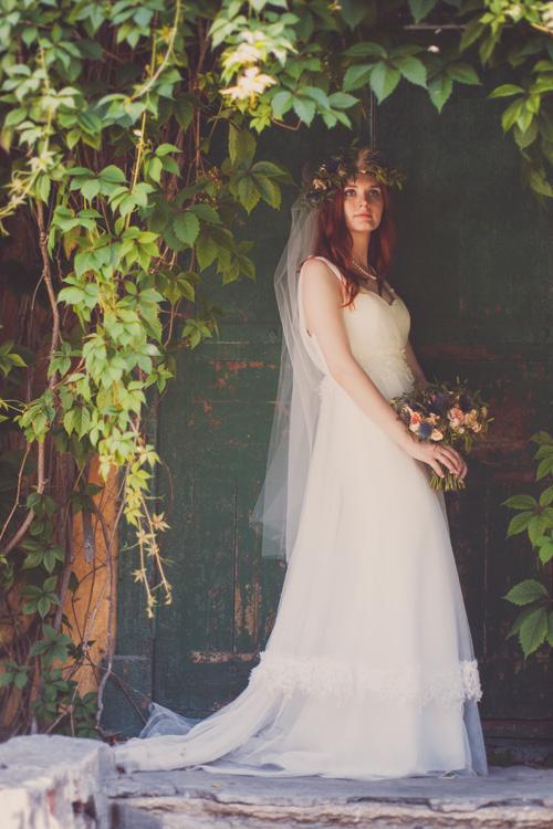 Невеста Виктория в платье «Minelli» (Rembo Styling)