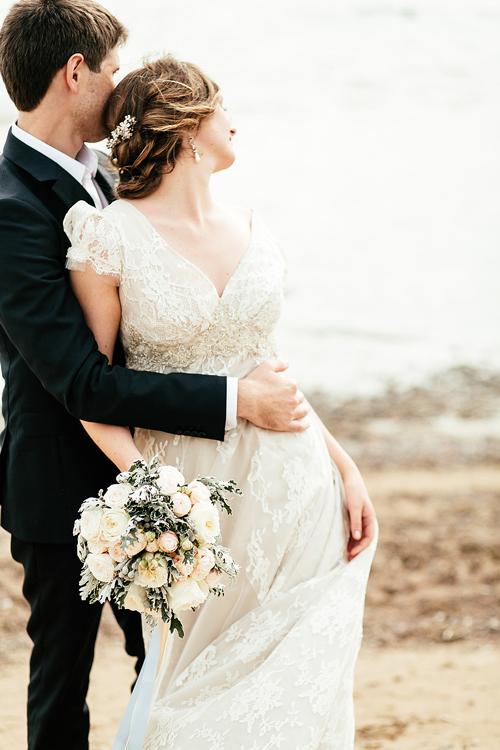 Невеста Анастасия в платье «Juliette» (Rembo Styling)
