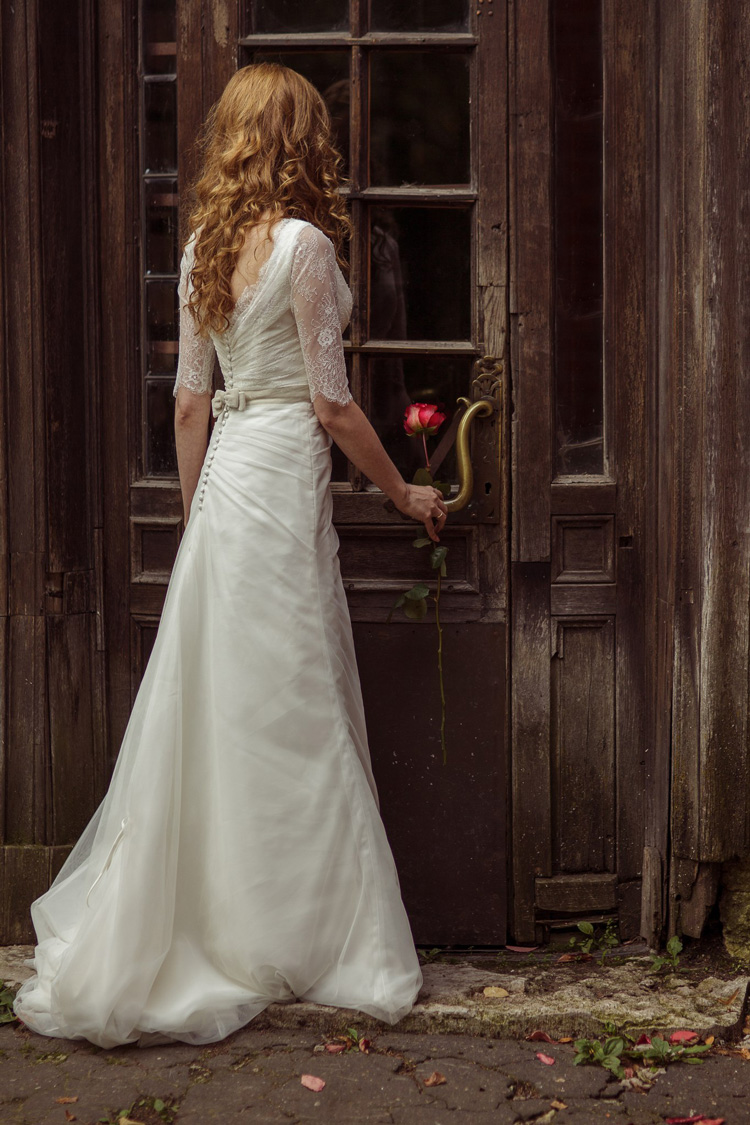 Невеста Елена в платье «Cruz» (Rembo Styling)